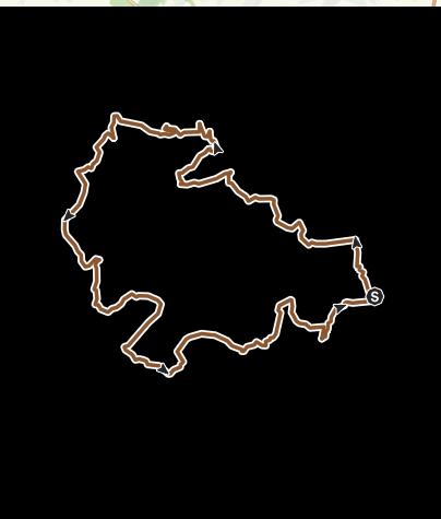 Carte / tazenat 2008 47km 900m denivelé moins de 5h