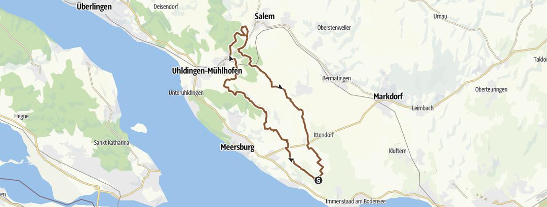 Karte / Salemer Weiher / kurz
