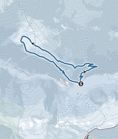 Map / Anello Sella Nevea-Piani del Montasio-Sella