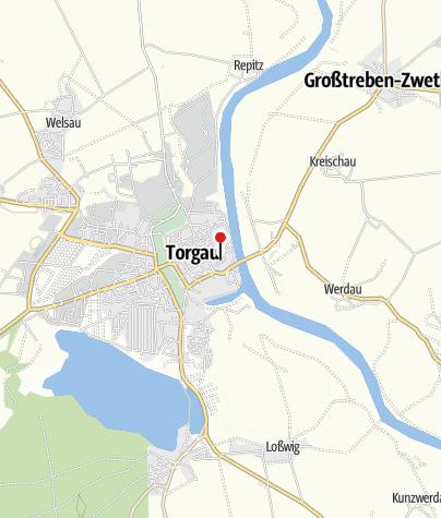 """Karte / """"Soldaten an der Elbe"""""""