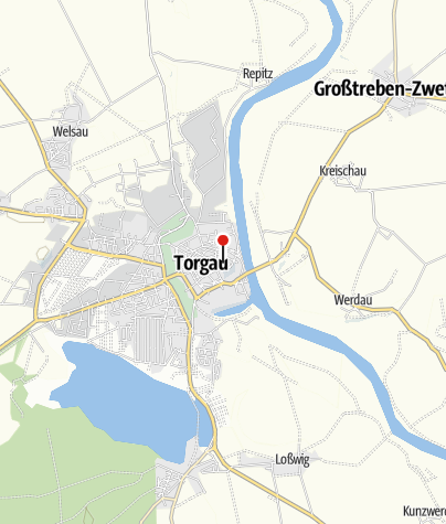 Karte / Kleine Galerie im Hahnemannhaus Torgau