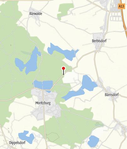 Karte / Waldhochseilgarten und Abenteuerpark Moritzburg