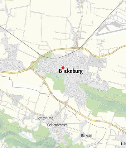 Karte / Schloss Bückeburg und das Schaumburger Land