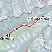 Map / Ahrntaler Schmugglerpfade - Etappe 3 a: Von Steinhaus nach Kasern