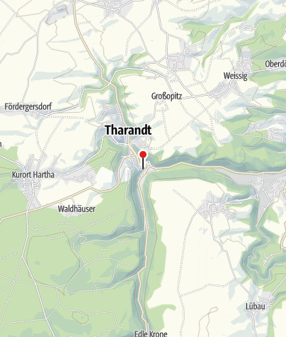 Karte / Burgruine und Bergkirche Tharandt