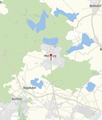Karte / Landgestüt Moritzburg
