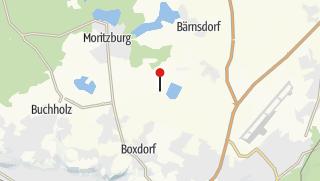 "Karte / Camping ""Oberer Waldteich"" Boxdorf"