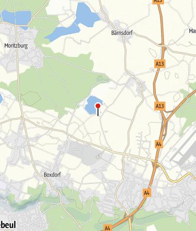 """Karte / Campingplatz """"Dresden Nord"""""""