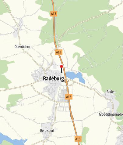 "Karte / Campingplatz ""Carad am See"" Radeburg"