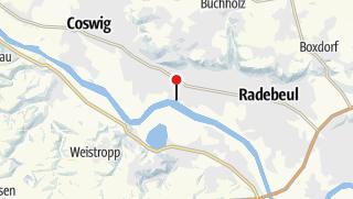 Karte / Caravanstellplatz am Wassersportzentrum Radebeul