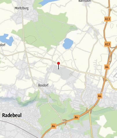 Karte / Caravanstellplatz bei Caravan Meinert Moritzburg