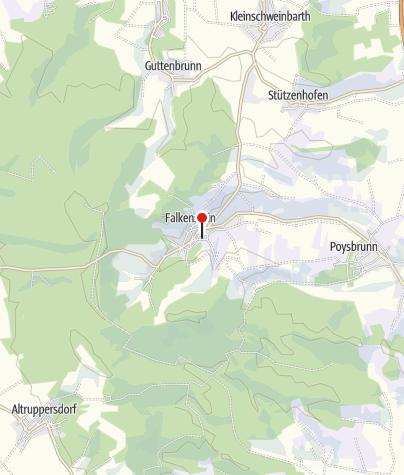 Map / Gästehaus Weinmann