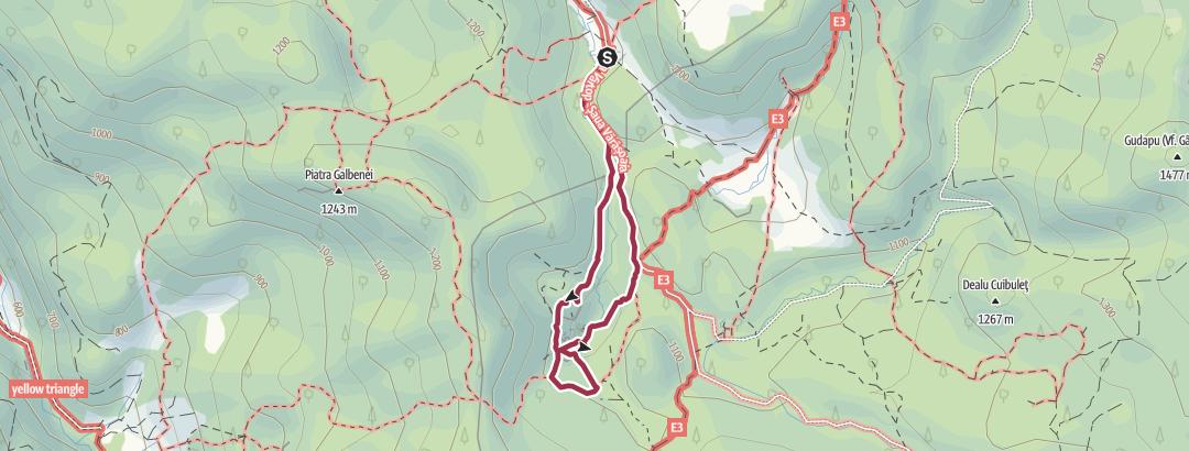 Map / Cetatile Ponorului (Grajduri)