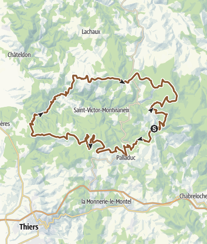 Carte / Le Grand Tour de St-Victor Mnvx
