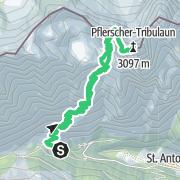 Map / Pflerscher Tribulaun (3.097 m) - formschöner Berg hoch übern Pflerschertal