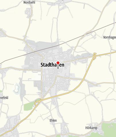 Karte / Tourist-Information Stadthagen