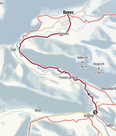 Map / JULIANA TRAIL: stage 13