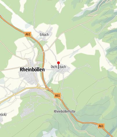 "Map / Gasthaus-Pension ""Zum Felsenkeller"""