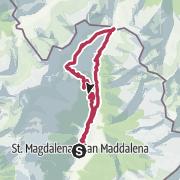 Map / Alm-Wanderung zum Gsieser Törl
