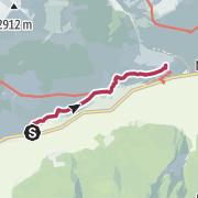 Map / Auf dem Schnalswaalweg zum Schloss Juval
