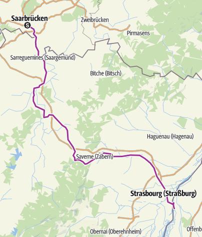 Carte / SB - Strasbourg