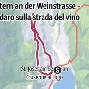 Map / Durch Weinberge vom Kalterer See nach Kaltern