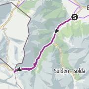 Map / Mit dem Rad von Prad auf das Stilfser Joch