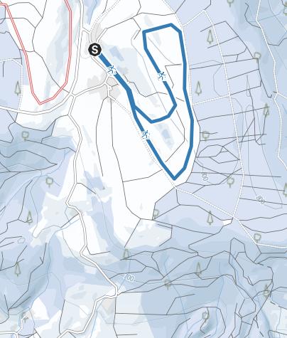 Karte / Betenbrunner-Loipe