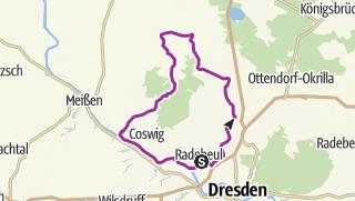Karte / Rund um Moritzburg