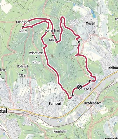 Map / Kindelsberg path
