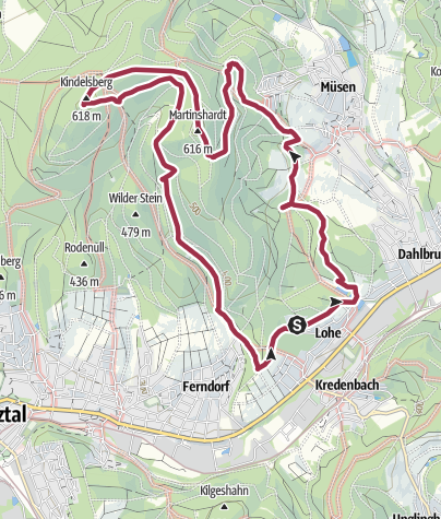 Map / Kindelsberg path