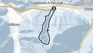Map / Monte Lussari