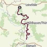 Karte / Naturparkweg Leine-Werra
