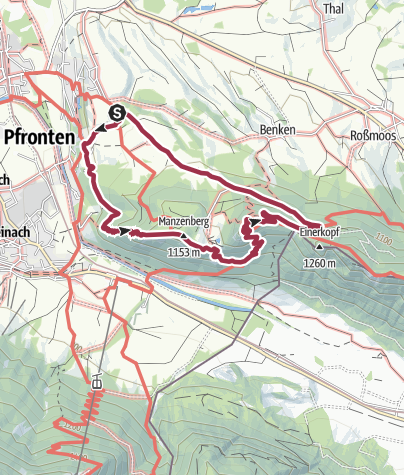 Karte / Burgruine Falkenstein