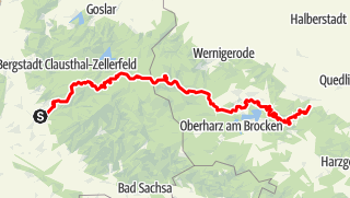 Karte / Harzer Hexenstieg