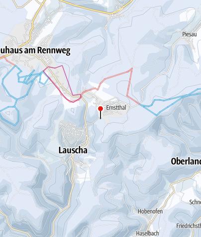 Map / Skilift am Pappenheimer Berg