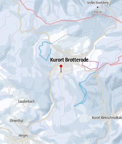 Map / Skilift am Seimberg