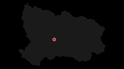 Karte / 14 Achttausender im Osterzgebirge