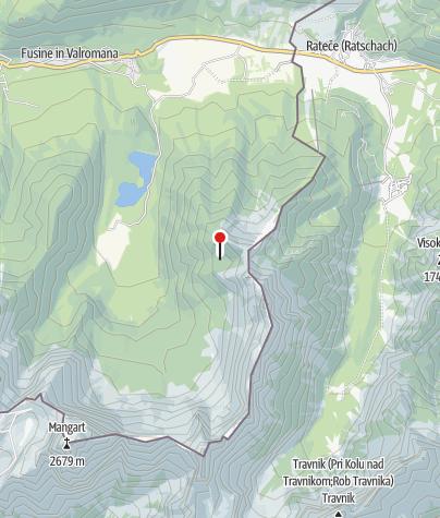 Map / Höchster Punkt der Tour