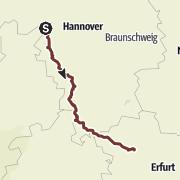 Karte / Pilgerweg Loccum-Volkenroda