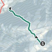 Karte / Besteigung des Monte Cintu