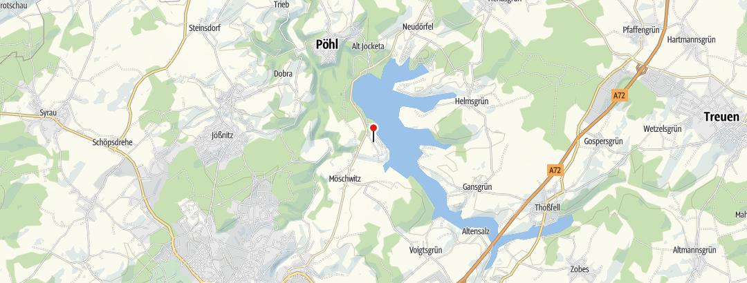 """Map / Gaststätte """"Zur Auszeit"""" Gunzenberg"""
