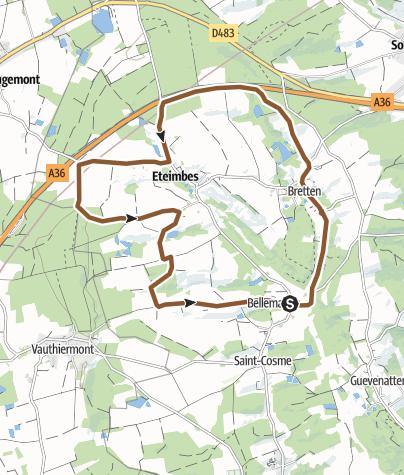 Carte / Piste 27 : Le vallon du Steinbach