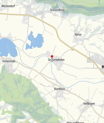 Karte / Weserfähre Großenwieden-Rumbeck