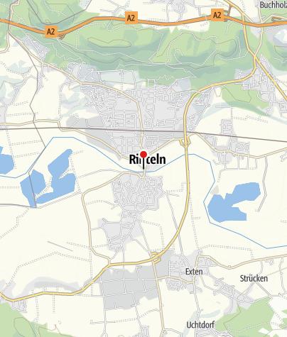 """Karte / Wohnmobilstellplatz """"Am Weseranger"""""""
