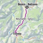 Map / Vom Reschenpass zum Gardasee, Etappe 3