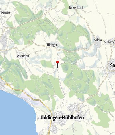 Karte / Affenberg Salem
