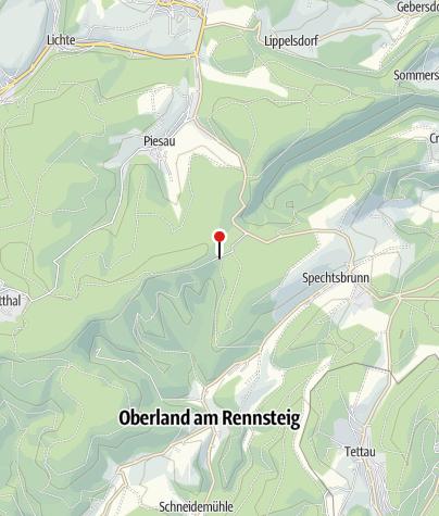 Karte / Bergbaude Brand