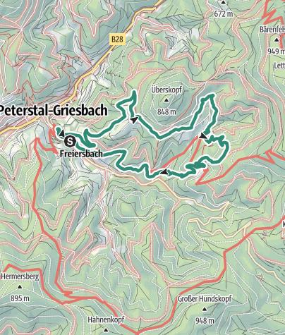 Map / Bergtour am 8. Mai 2020 um 08:16