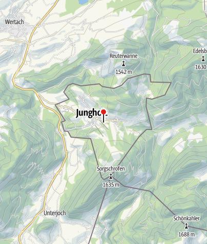 Map / Schrofenhütte